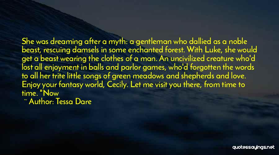 Man And Beast Quotes By Tessa Dare