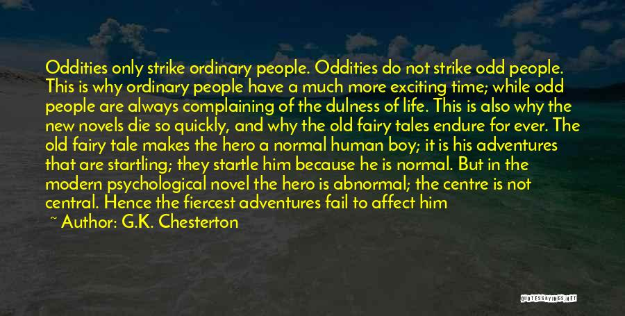Man And Boy Book Quotes By G.K. Chesterton