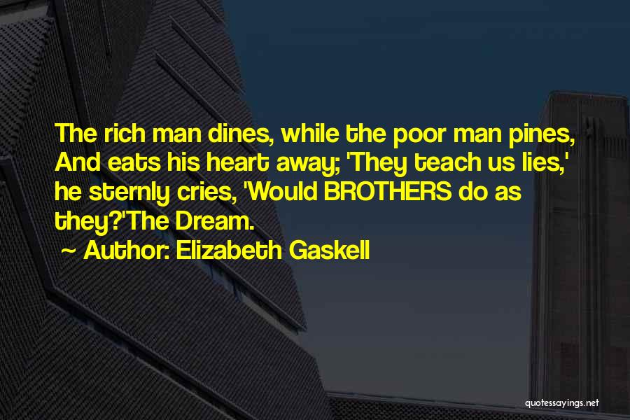 Man Cries Quotes By Elizabeth Gaskell