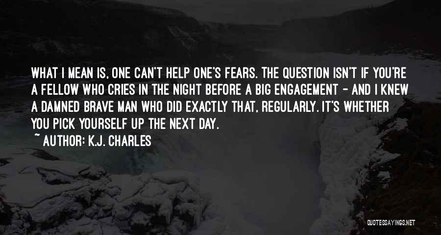 Man Cries Quotes By K.J. Charles