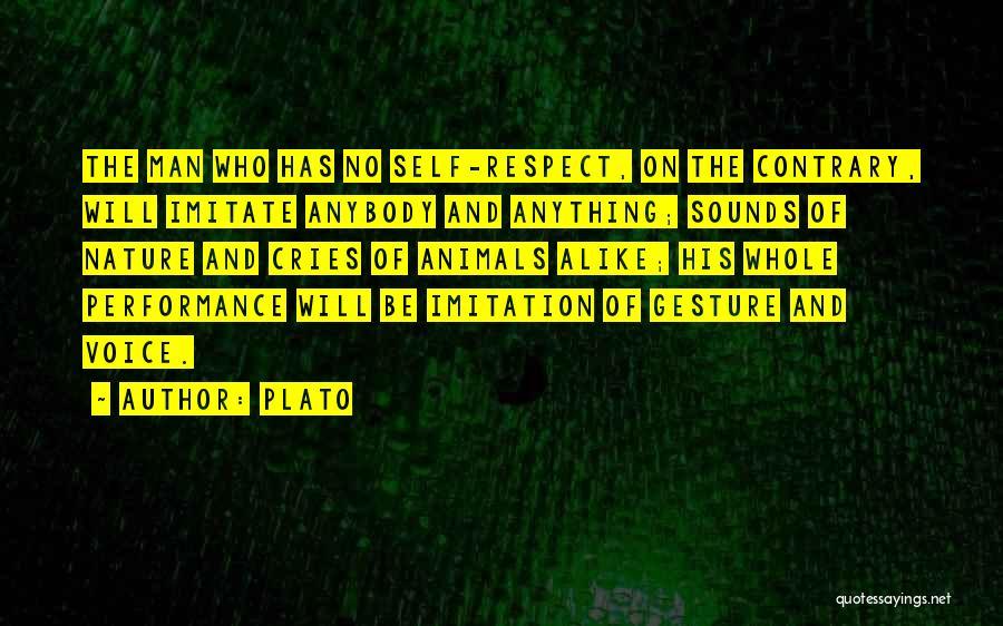 Man Cries Quotes By Plato
