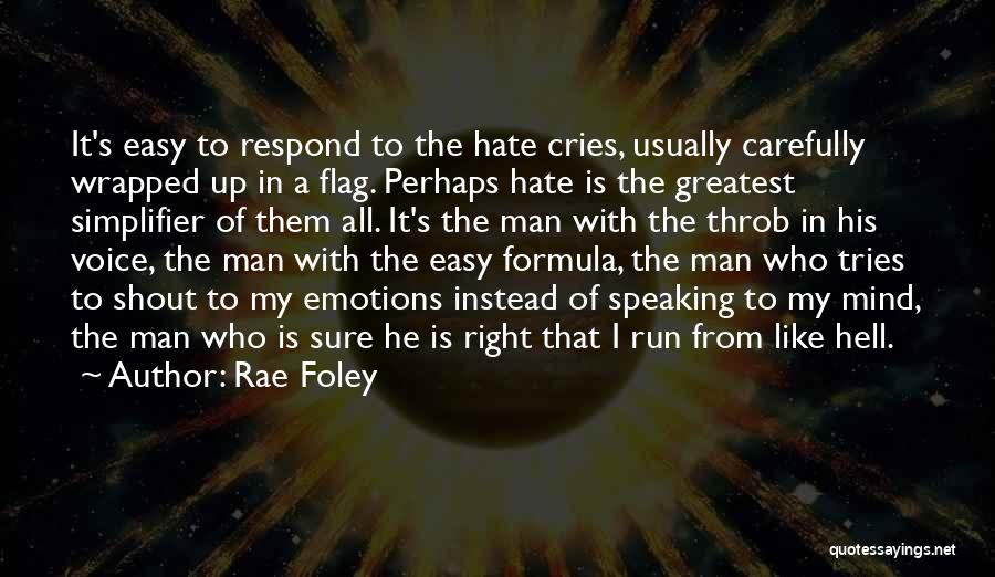 Man Cries Quotes By Rae Foley