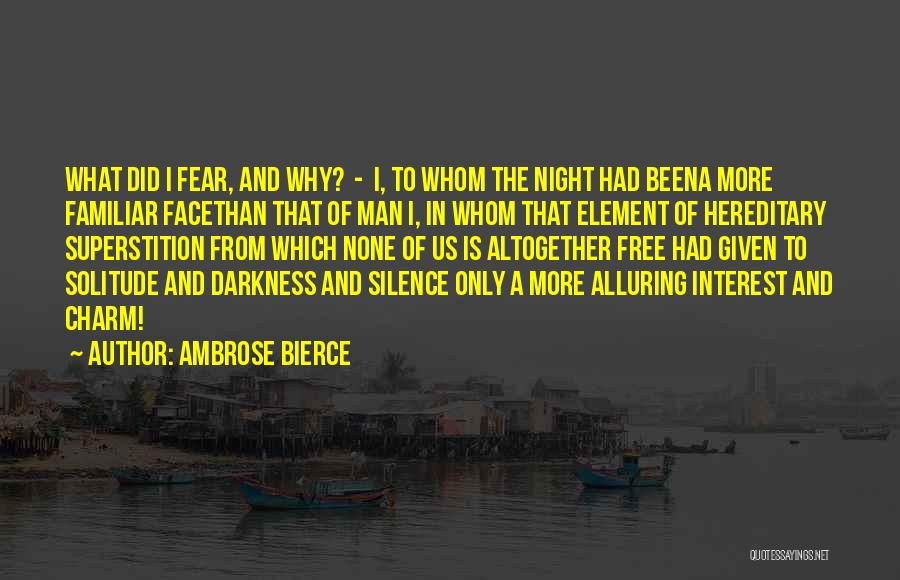 Man Is Free Quotes By Ambrose Bierce