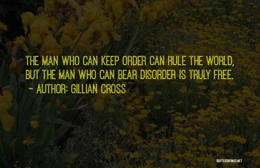 Man Is Free Quotes By Gillian Cross