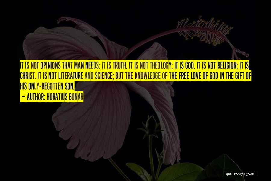 Man Is Free Quotes By Horatius Bonar