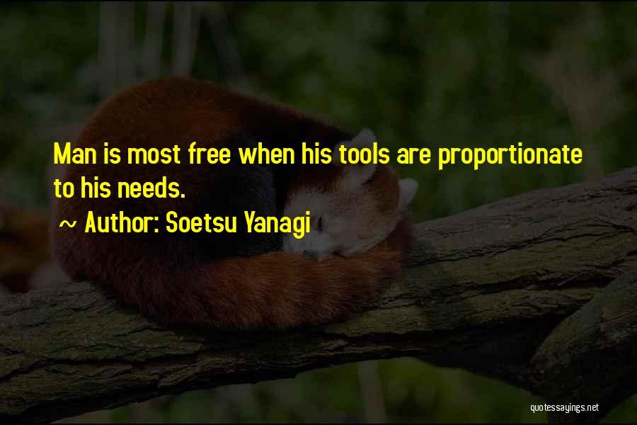 Man Is Free Quotes By Soetsu Yanagi
