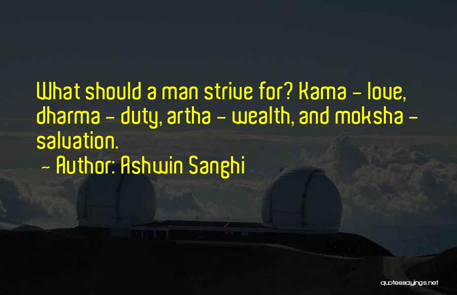 Man Love Quotes By Ashwin Sanghi