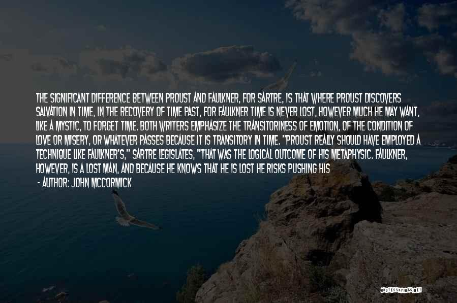 Man Love Quotes By John McCormick