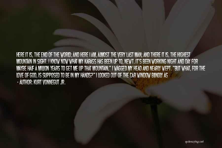 Man Love Quotes By Kurt Vonnegut Jr.