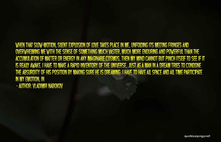 Man Love Quotes By Vladimir Nabokov