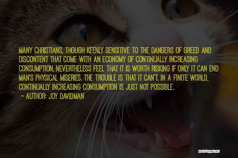 Man Not Worth It Quotes By Joy Davidman