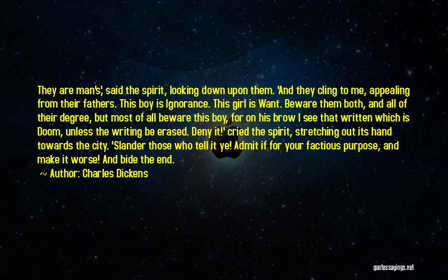 Man Who Cried Quotes By Charles Dickens