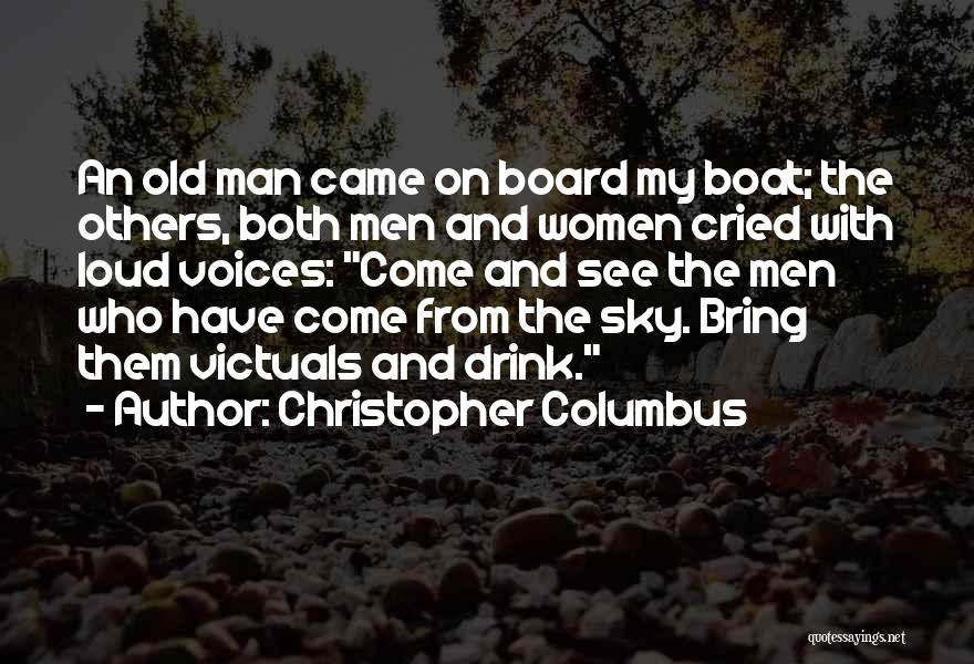 Man Who Cried Quotes By Christopher Columbus