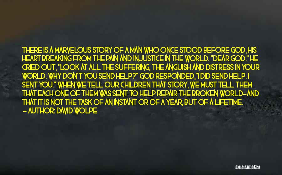 Man Who Cried Quotes By David Wolpe