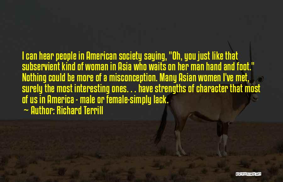Man Who Waits Quotes By Richard Terrill