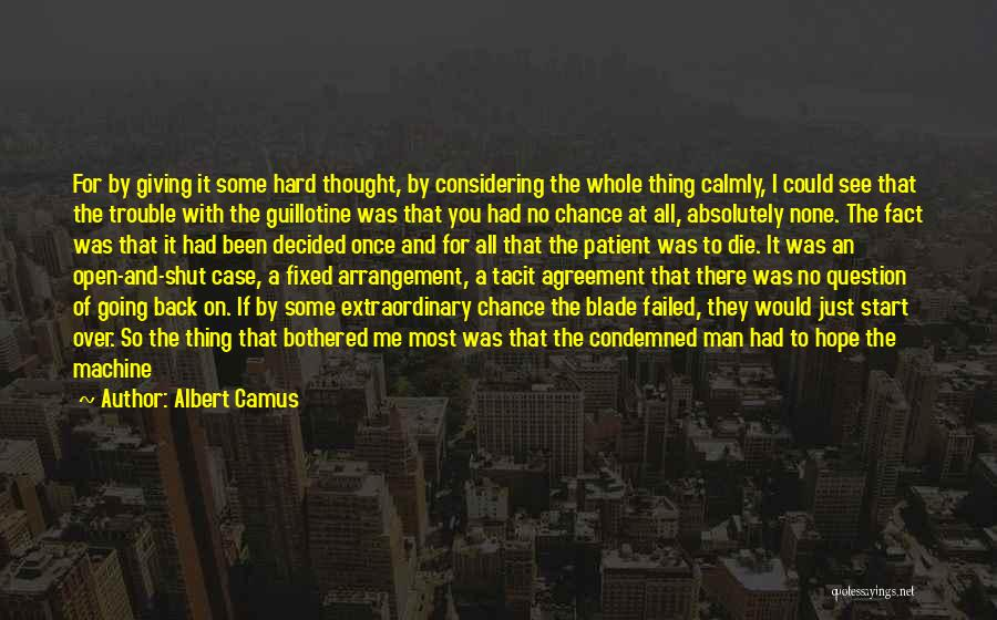 Man With No Words Quotes By Albert Camus