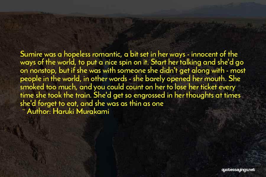 Man With No Words Quotes By Haruki Murakami