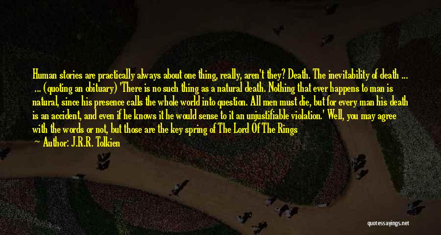 Man With No Words Quotes By J.R.R. Tolkien