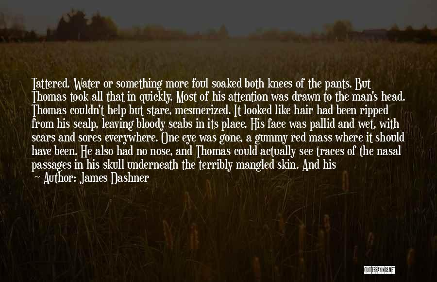 Man With No Words Quotes By James Dashner