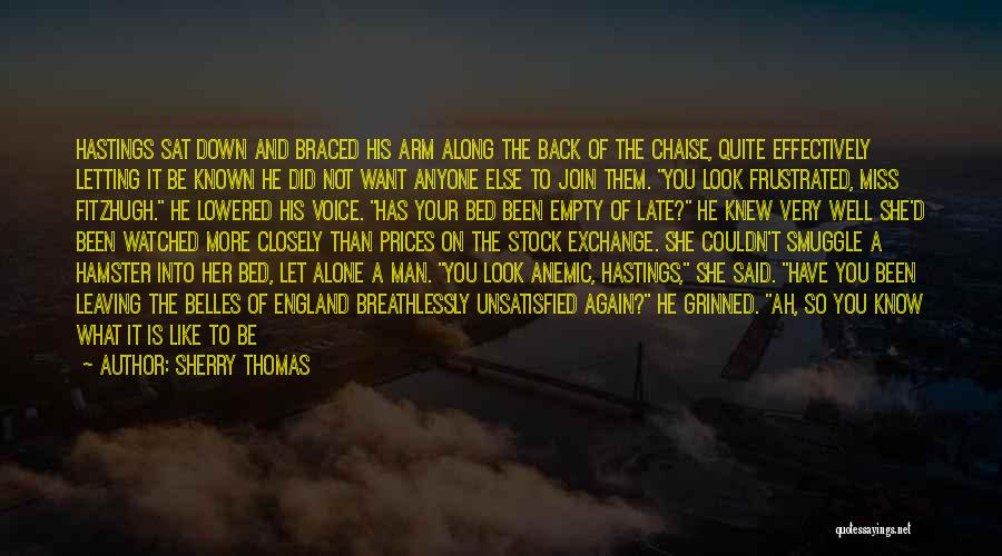 Man With No Words Quotes By Sherry Thomas