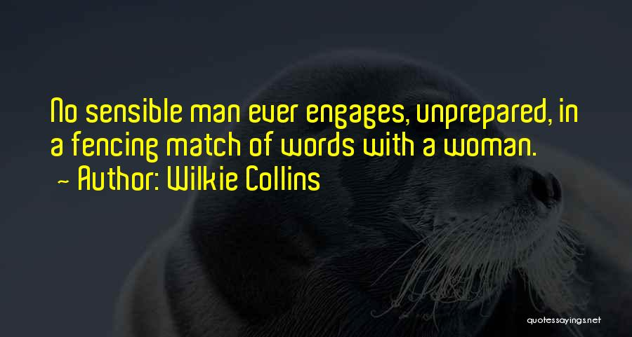 Man With No Words Quotes By Wilkie Collins