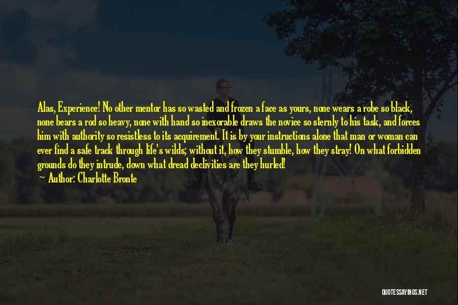 Man Without A Face Quotes By Charlotte Bronte