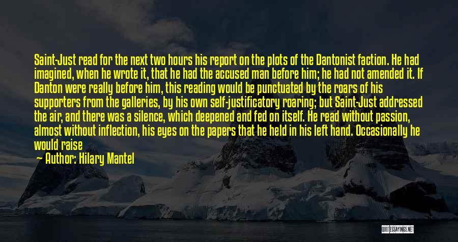 Man Without A Face Quotes By Hilary Mantel