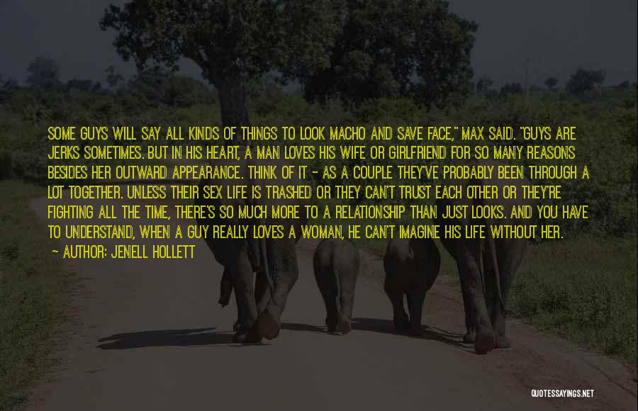 Man Without A Face Quotes By Jenell Hollett