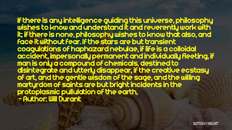 Man Without A Face Quotes By Will Durant