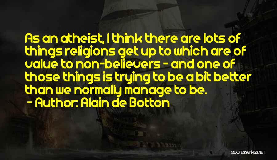 Manage Up Quotes By Alain De Botton