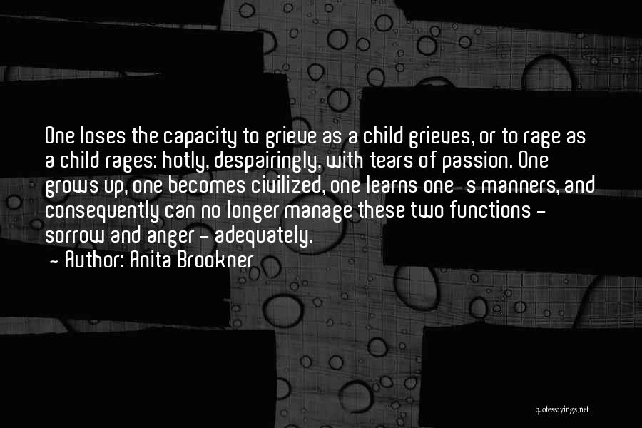 Manage Up Quotes By Anita Brookner