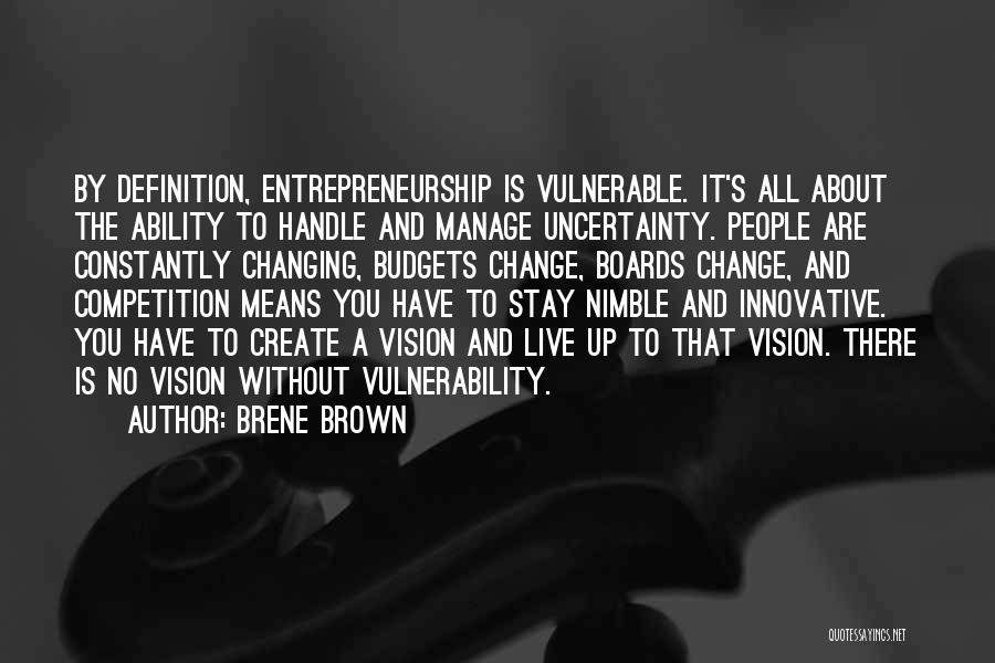 Manage Up Quotes By Brene Brown