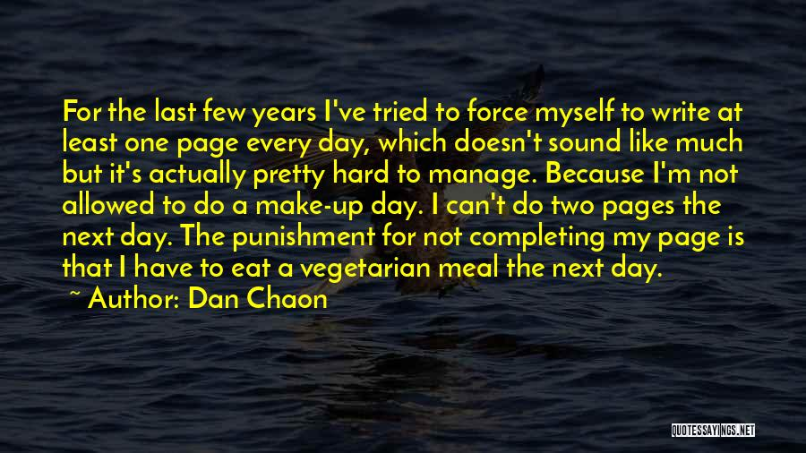 Manage Up Quotes By Dan Chaon