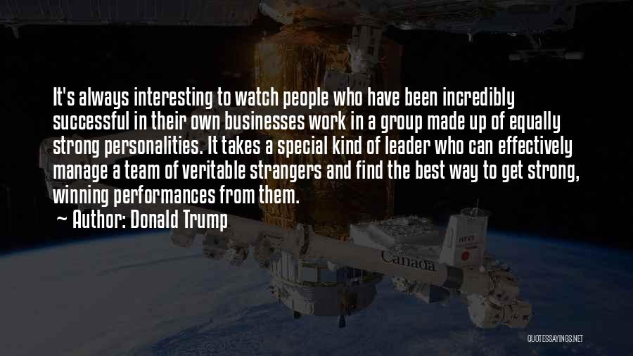 Manage Up Quotes By Donald Trump
