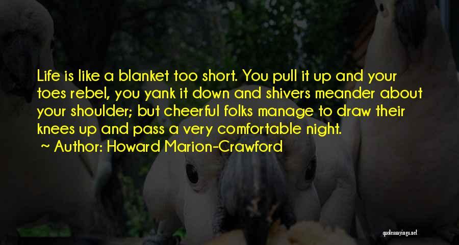 Manage Up Quotes By Howard Marion-Crawford