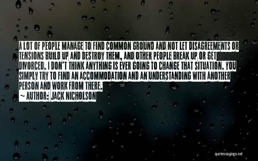 Manage Up Quotes By Jack Nicholson