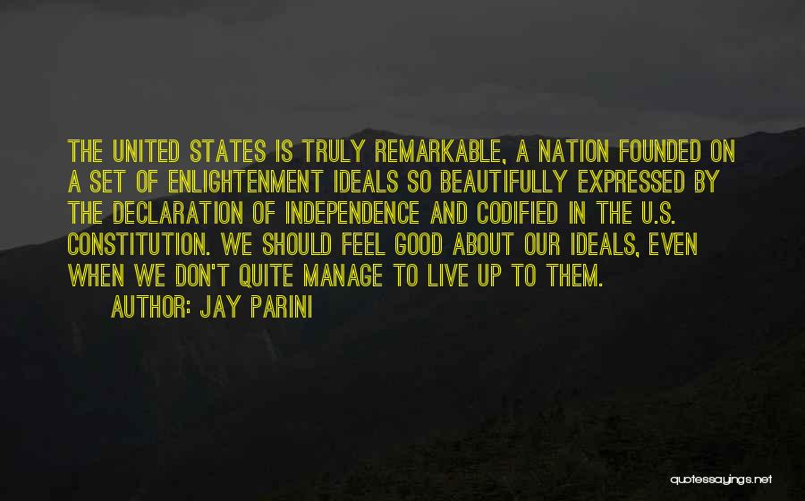 Manage Up Quotes By Jay Parini