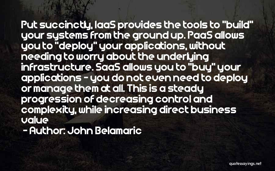 Manage Up Quotes By John Belamaric