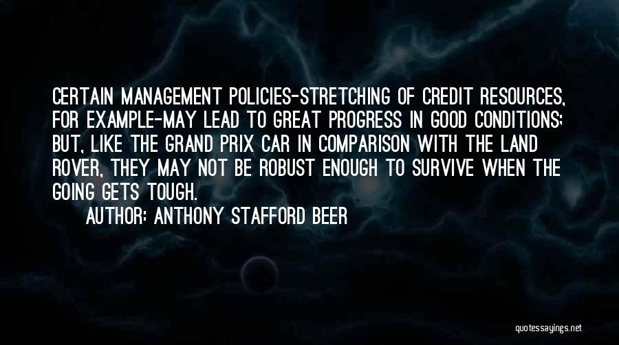 Management Of Resources Quotes By Anthony Stafford Beer