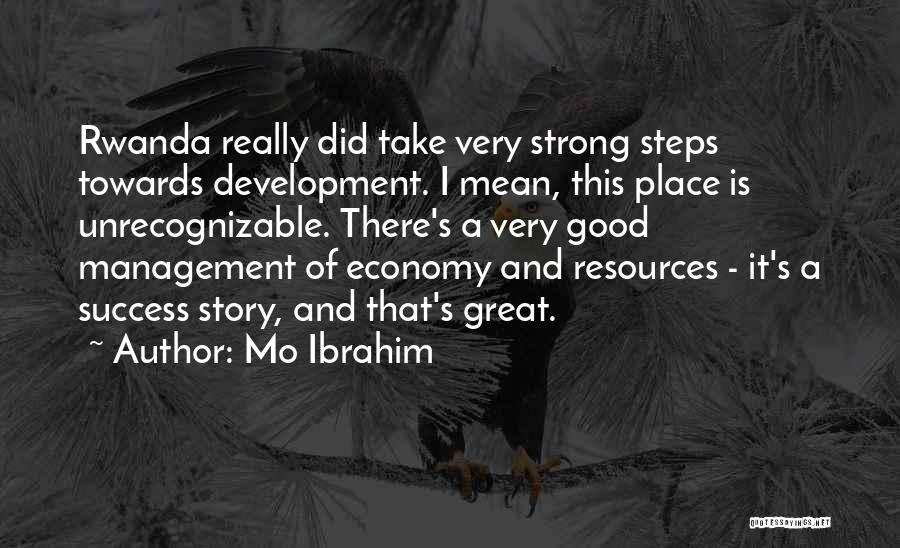 Management Of Resources Quotes By Mo Ibrahim