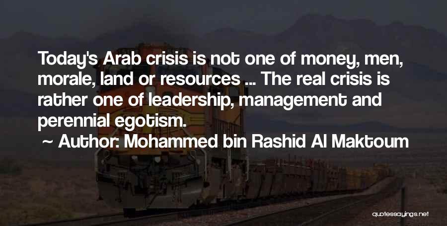 Management Of Resources Quotes By Mohammed Bin Rashid Al Maktoum