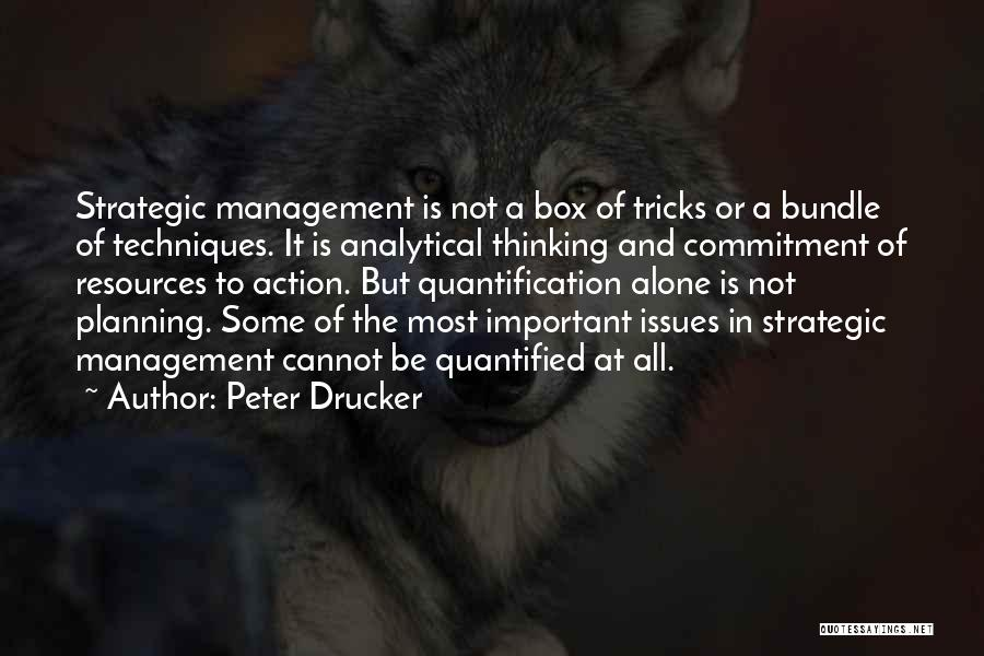 Management Of Resources Quotes By Peter Drucker
