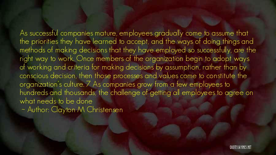 Managers Quotes By Clayton M Christensen