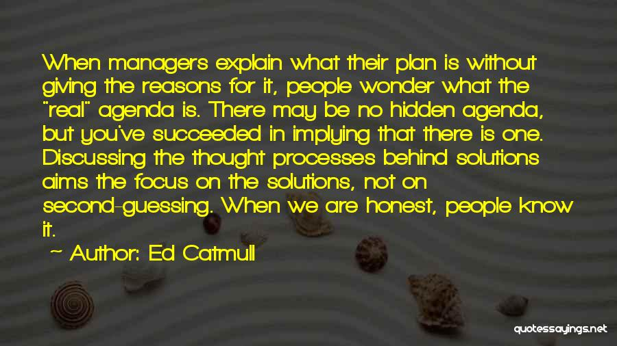 Managers Quotes By Ed Catmull