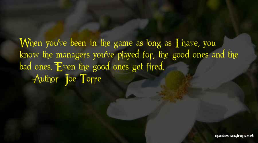 Managers Quotes By Joe Torre