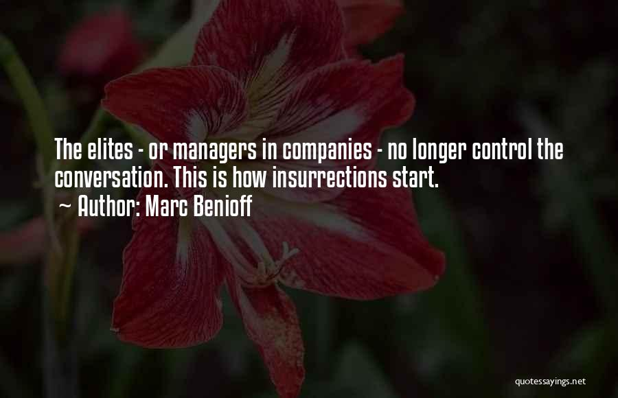 Managers Quotes By Marc Benioff