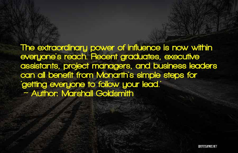 Managers Quotes By Marshall Goldsmith