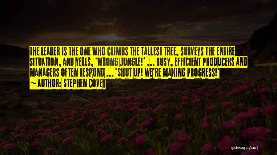 Managers Quotes By Stephen Covey