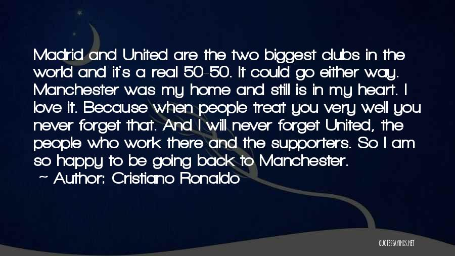 Manchester United Supporters Quotes By Cristiano Ronaldo