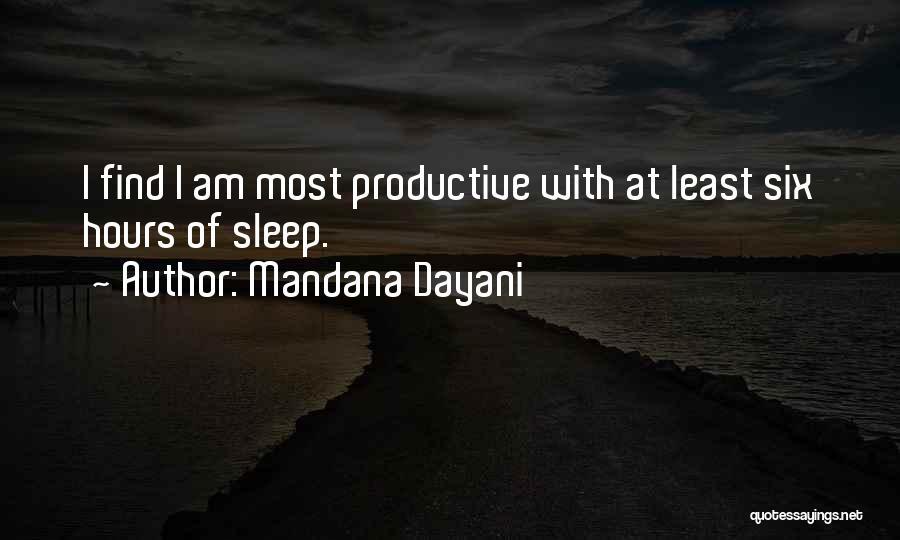 Mandana Dayani Quotes 351648